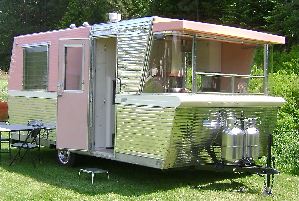 1960 Shasta Travel Trailer