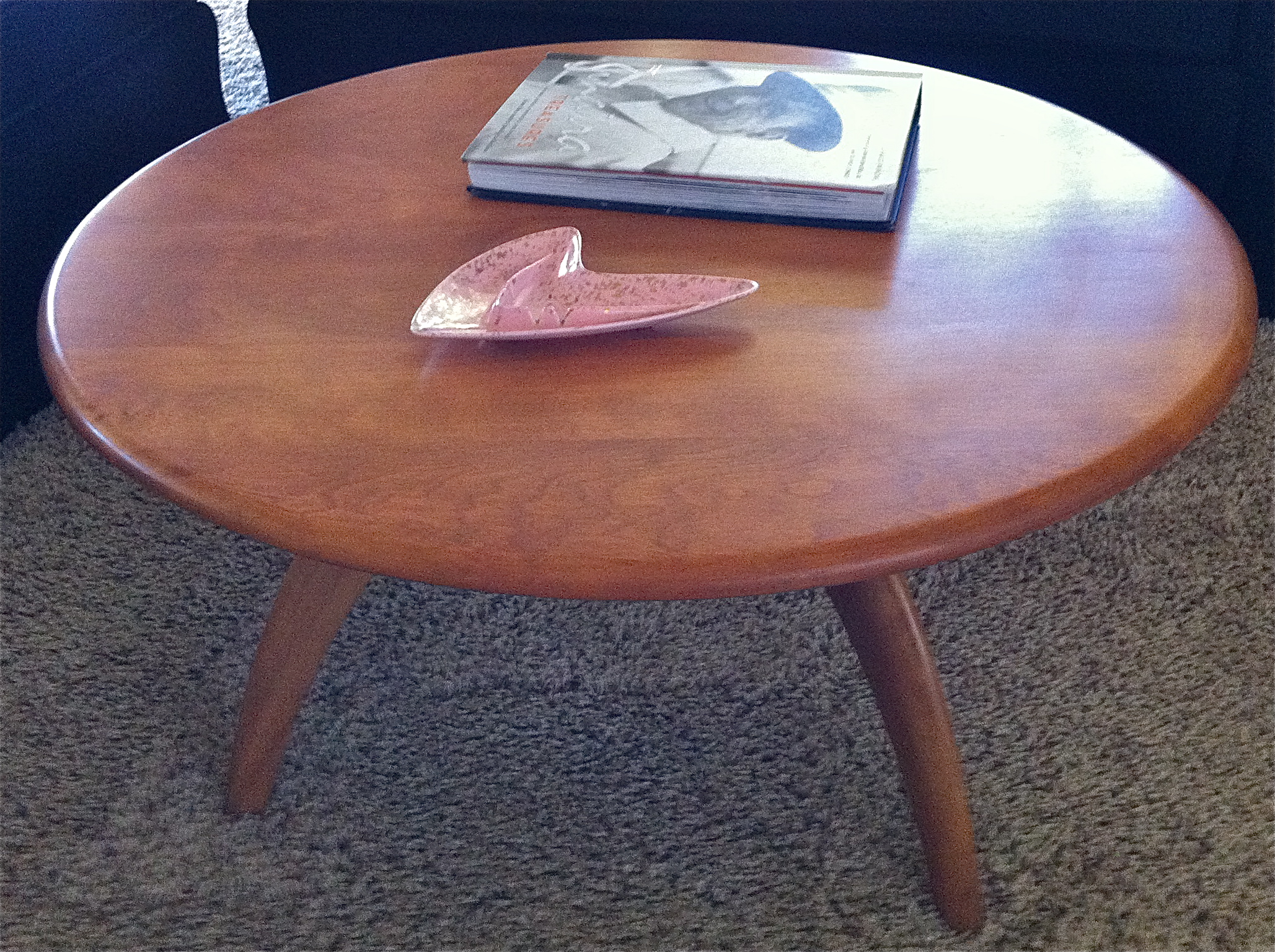 Charmant Lazy Susan Coffee Table Complete