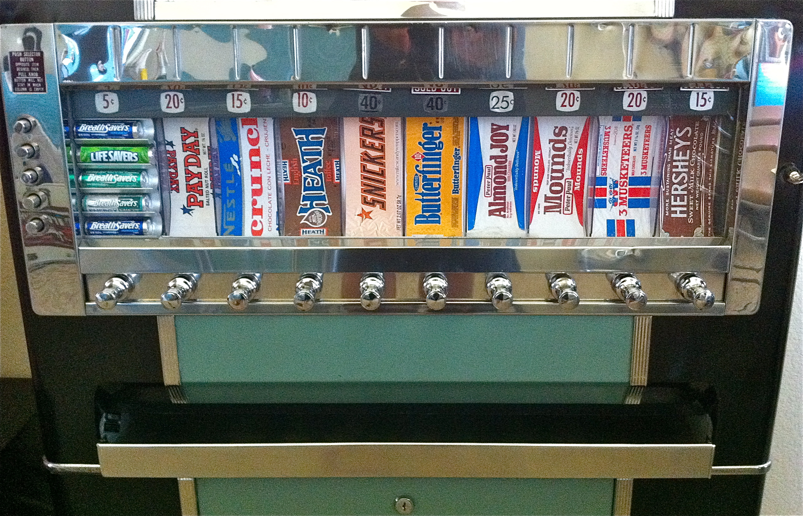 1950 S National Candy Vending Machine Hepcats Haven