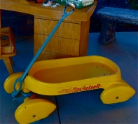 Rocketeer Pedal Car