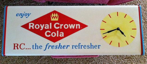 Royal Crown Cola Clock/Sign
