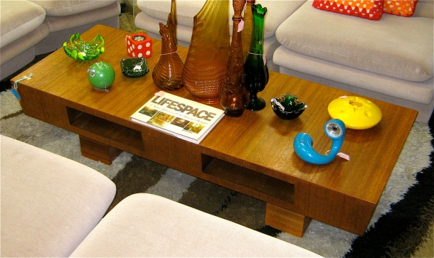 MCM Cubby Coffee Table