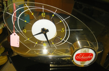 Atomic Schaefer Clock
