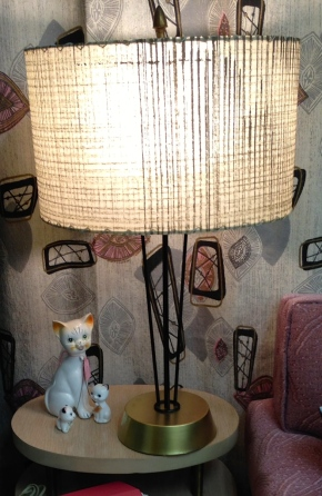 Pair of Wire Lamps