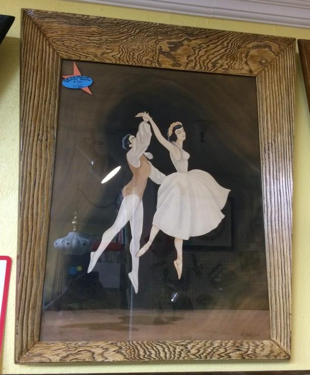 XL Ballerina Carlo of Hollywood