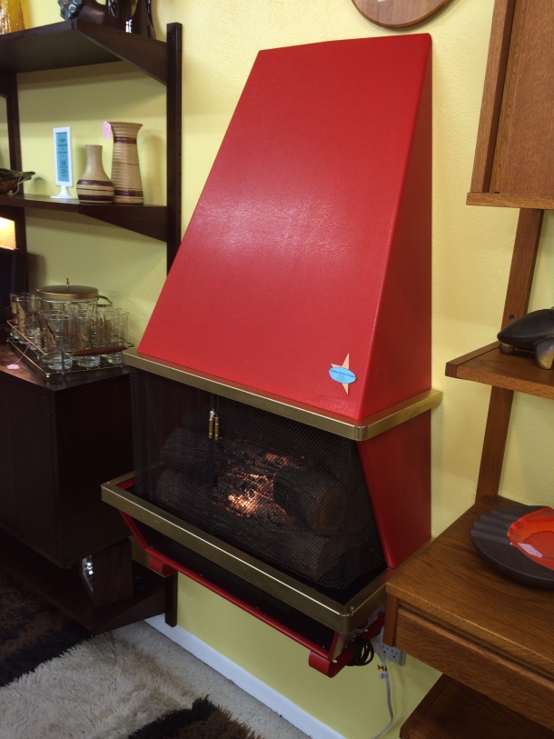 Hanging/Floor Electric Fireplace