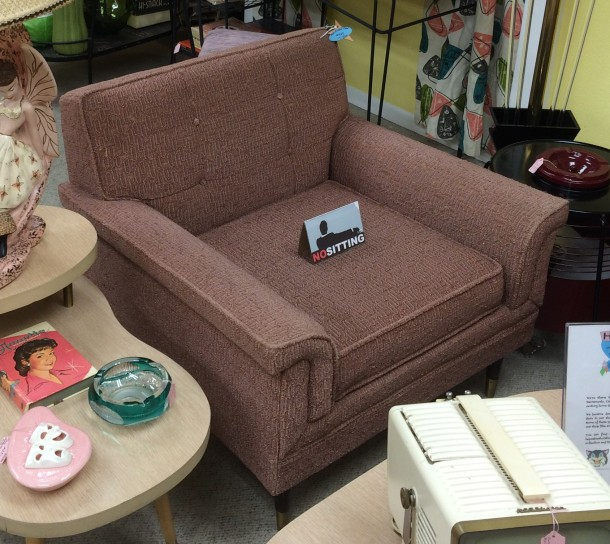 Pink Frieze Chair