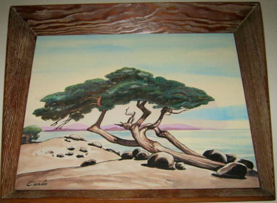 Carlo of Hollywood Watercolor Trees