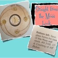 Moss Clock