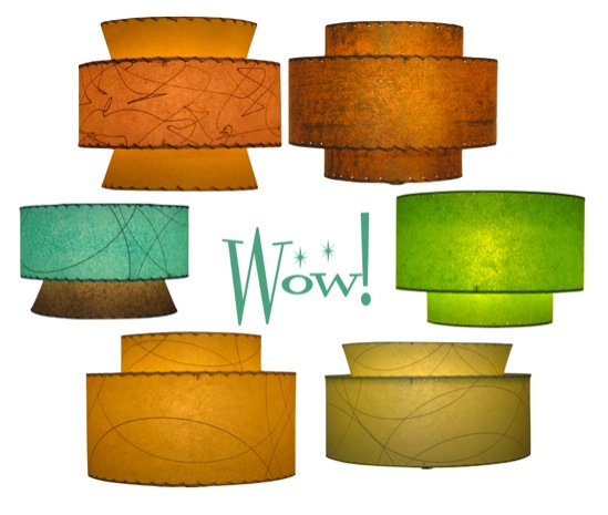 Do you need a new lamp shade for your retro lamp hepcats haven this is a small sampling of the shades you can create aloadofball