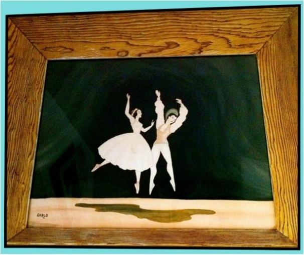 Carlo of Hollywood Ballerina Watercolor