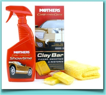 This stuff isn't only great for the finish of your car but also your refinished dresser. The clay bar actually sheers imperfections from the surface and creates a slick ans smooth surface.