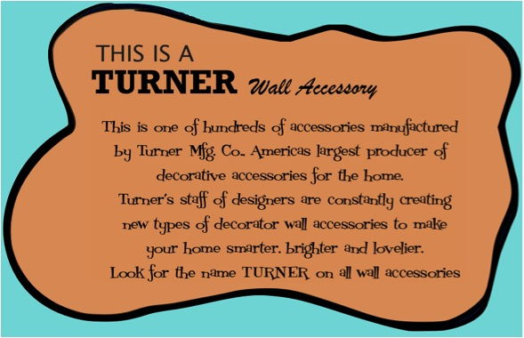 Turner Wall Accessory | Hepcats Haven