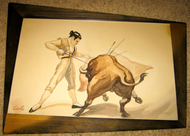 Carlo of Hollywood Bullfighter