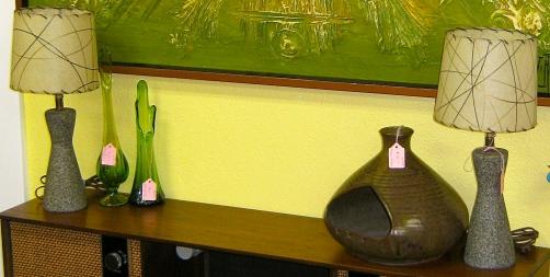 Pair Mid Century Desk Lamps