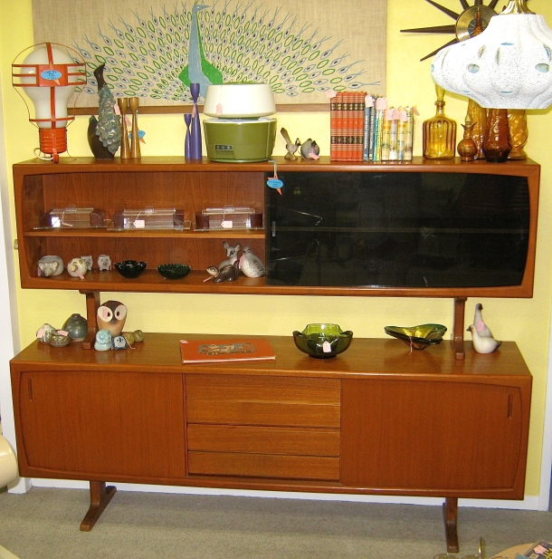 Mid Century Stacking Hutch/Room Divider
