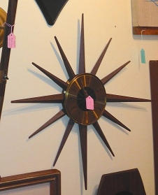 Seth Thomas Starburst Clock