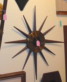 Seth Thomas Starburst Clock
