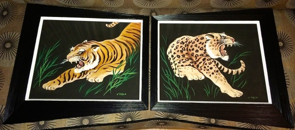 Jungle Cat Carlo Paintings