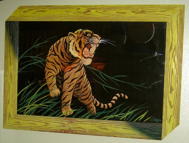 XL Carlo of Hollywood Tiger Watercolor