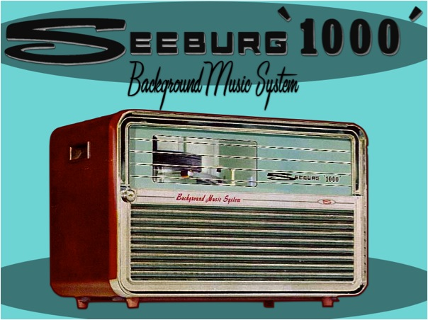 Seeburg 1000 Background Music System Hepcats Haven
