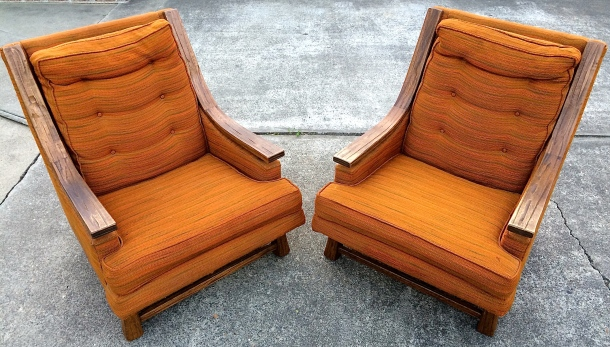 Ranch Oak Chairs
