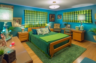 Franklin Shockey bedroom set restored by Shane. Photo Credit: Donald Satterlee.