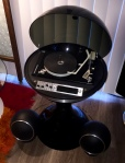 FOR SALE: Vintage, Mid-Century, Space Age, Atomic, Electrohome Bubble Top Record Player
