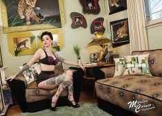 Photographer & MUAH: Marilee Caruso, Model: Roxy Ruckus