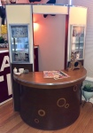 Art Deco NY Hair Salon Counter