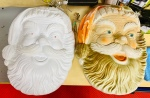 "Vintage Poloron 17"" Santa Head Blowmold Restoration (Part 1)"