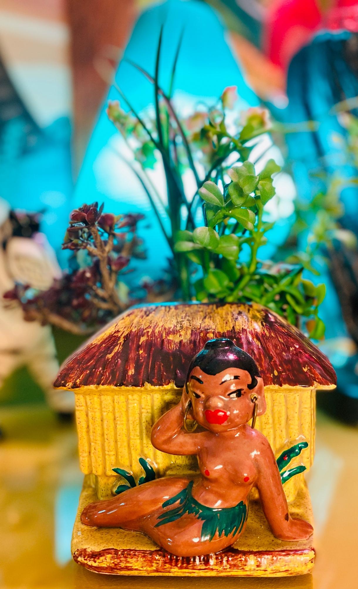 Vintage Novelty Tribal Figures (Blackmoore/Black Americana)