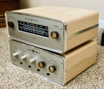 1962 the Voice of Music Model 1448 Integrated Amplifier and Model 1462 Tuner